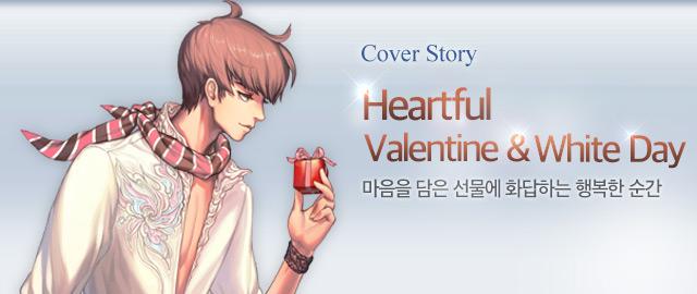 Heartful Valentine & White Day