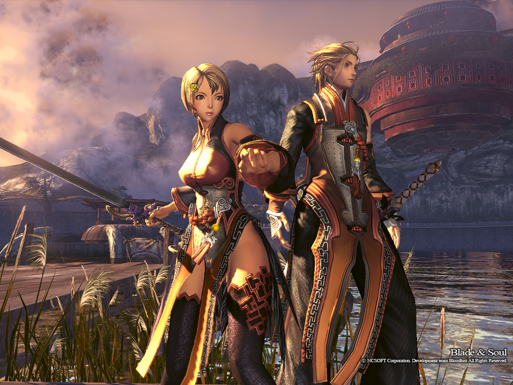 blade and soul unreal engine 4
