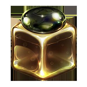 빛나는 신비의 큐브 상자