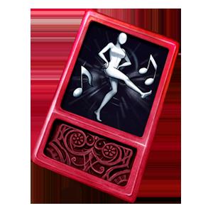 [행위예술 카드] 캉캉춤