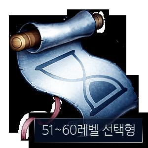 51-60레벨 선택형 특급 추가 입장 주문서