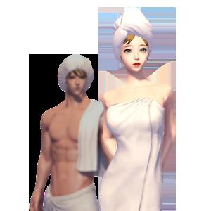 섹시한 목욕 의상