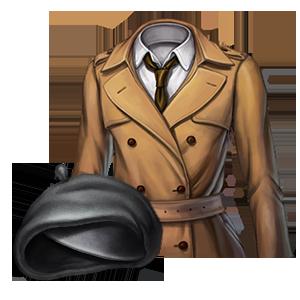 트렌치 코트 의상