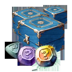 [마스터] 빛나는 스티그마 상자 33개