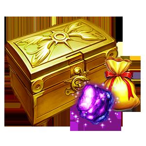 대형 주신의 강화석 상자