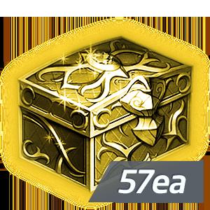 드래곤의 금빛 유물 상자 (57개 묶음)