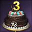 3주년 케이크