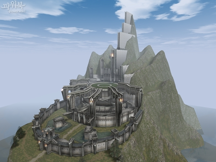 При владении территорией замок
