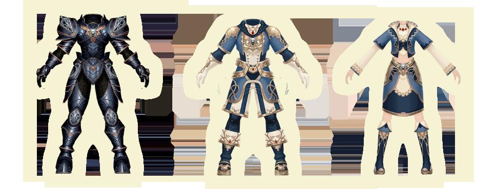 푸른 늑대 세트